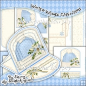 Winter Wishes Easel Card Download