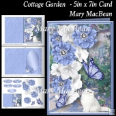 Cottage Garden - 5in x 7in Card