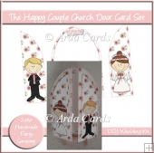 The Happy Couple Church Door Card Set