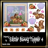 Easter Bunny Topper 4