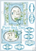 Purr-fect Day Kitty Card Topper