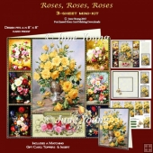 Roses, Roses, Roses - 3-Sheet Mini-Kit