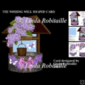 The Wishing Well Shaped Card