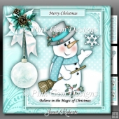Magical Snowman Mini Kit