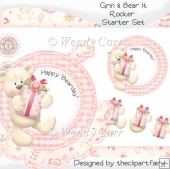 Grin & Bear It Rocker - STARTER SET(Retiring in August)