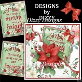 Poinsettia Pocket Card