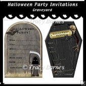 Graveyard Party Invitations