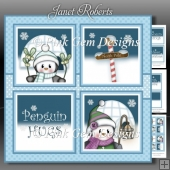 Penguin Squares Mini Kit