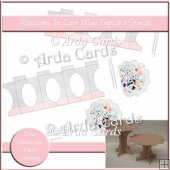 Raccoons In Love Mini Cupcake Stands