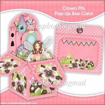 Crown Fits Pop Up Box Card