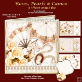 Roses, Pearls & Parasol - 3-Sheet Mini-Kit
