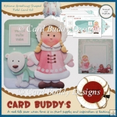 Eskimo Greetings Shaped Fold Card Kit