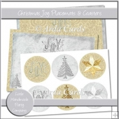 Christmas Joy Placemats & Coasters