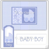 Baby Boy Swing Card