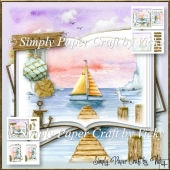 Sail Away Open Book
