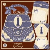 Dress and Shoes Handbag Card