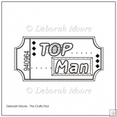 Top Man Digital Stamp/Sentiment