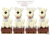 Westies Puppy Dog Bookmarks - Get Your Paws Off My Book
