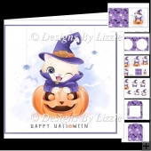 Little Kitty Halloween Mini Kit 1