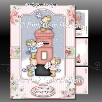 Post Box Mice A5 Mini Kit