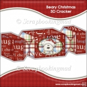Beary Christmas 3D Cracker Gift Box