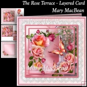 The Rose Terrace - Layered Card