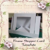 Frame Stepper Card Template