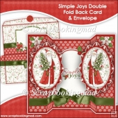Simple Joy Oval Double Foldback Card