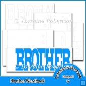 Brother Word book Template Personal Use
