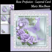 Rose Profusion - Layered Card