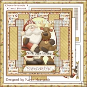 Deerfriends 1 Card Front