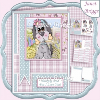 BARKING MAD A5 Decoupage & Insert Kit