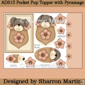 ADS15 Pocket Puppies Topper with Pyramage