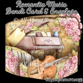 Romantic Music Bendi Card & Envelope