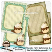 Cupcake Party - Stationeries 2
