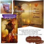 Listen To The Magic Of Fall Sweet Pocket Card