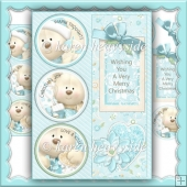 Holidaycharm 5 by 7 Card Front
