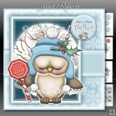 Santa Stop Here Ollie Owl Mini Kit