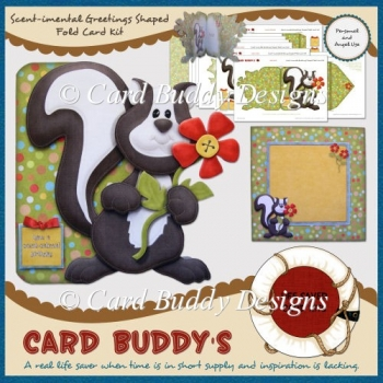 Scent-imental Greetings Shaped Fold Card Kit