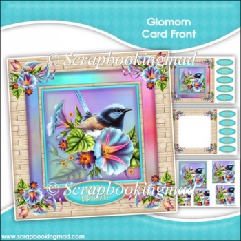 Glomorn Pyramage Card Front Kit