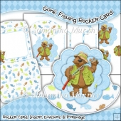 Gone Fishing Rocker Card Download