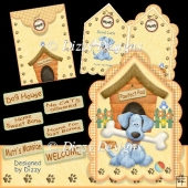 Dog & Kennel Card Kit