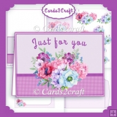 Anemones landscape card set