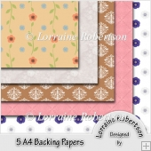 5 Backing Papers