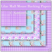 5 Lilac Mall Mouse Backing Papers Download