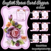 English Roses Card Topper