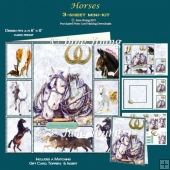 Horses - 3-Sheet Mini-Kit