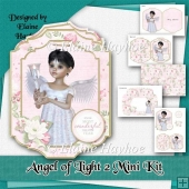 Angel of Light 2 Christmas Card Kit