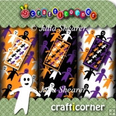 Ghostly Halloween Sheets and Tags Kit
