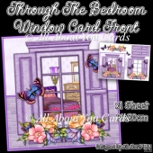 Through The Bedroom Window Card Front